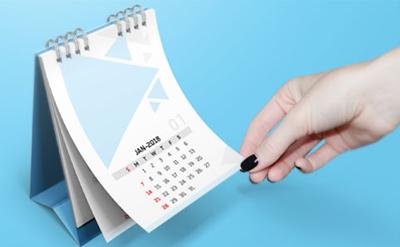 calendari e gadget aziendali